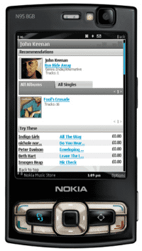 """Nokia """"Comes with Music"""" auf N96"""
