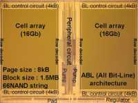 3-Bit-MLC-NAND mit 32-nm-Strukturen