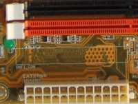 Vorbereitung für ONFI-Stecker