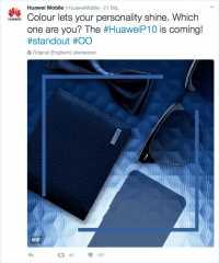 Huawei zeigt neues Spitzensmartphone P10 in Barcelona