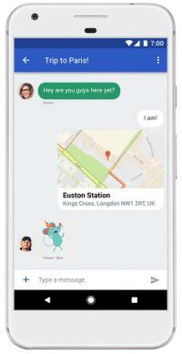 Mit einem neuen technischen Unterbau soll Googles Messenger wieder konkurrenzfähiger werden.