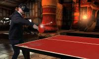 """Tischtennis in """"VR Sports"""" fühlt sich dank der akkuraten Ballphysik erstaunlich realistisch an."""