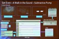 Ausgangspunkt jedes Musikstücks in Get Even ist ein Geräusch der Spieleumgebung, das als leise Drohne anschwillt oder im erst langsamen und dann immer schnellerem tempo gesteigert wird.