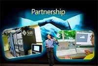 Microsoft-Manager Dan'l Lewin auf der JavaOne