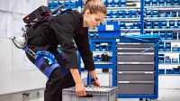 Exoskelett für industrielle Anwendungen vorgestellt