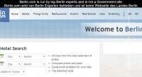 Auf berlin.com erklärt ein Disclaimer, dass die Website nicht vom Land Berlin betrieben wird. Deshalb dürfen die Betreiber der Seiter die Domain weiterhin nutzen.