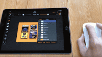 iPad mit Maus