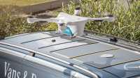 Vans & Drones: Mercedes testet Paketlieferung mit Drohnen in Zürich