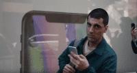 Screenshot Samsung-Reklame