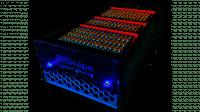 BitScope-Einschub mit 144 Raspberry Pi