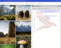 """Neu in der Version 2.2 des UWP Toolkit: Kolumnen können mit Hilfe des """"Staggered Panel"""" möglichst platzsparend um weitere Punkte ergänzt werden. (Bild: Microsoft)"""