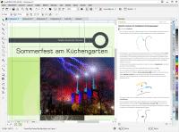 Designvorlagen, Tutorial-Videos und die Hinweis-Palette erleichtern den Einstieg.