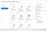 Windows Template Studio 2.0 soll mit neuem UI leichter zu bedienen sein.