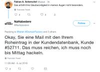Fabian A. Scherschel / heise online / Twitter