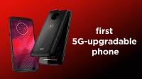 5G.Smartphone Moto Z3: Motorola und Verizon preschen bei Mobilfunk voran