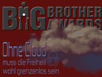 """""""Ohne Cloud muss die Freiheit wohl grenzenlos sein"""", lautete das Motto der Big Brother Awards Austria 2018."""
