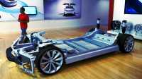 Plattform eines Tesla