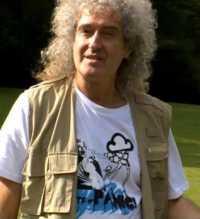 Brian May, hier vor einigen Jahren.
