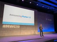 Die Ankündigung von Flutter 1.2 im Rahmen des MWC