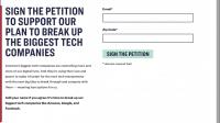 US-Senatorin schlägt Zerschlagung von Internet-Konzerne vor