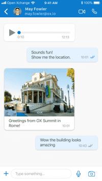 Der Coi-Client soll später alle Funktionen haben, die auch WhatsApp & Co. bieten.
