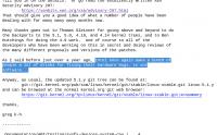 Intel schulde den Linux-Entwickler einige Biere für ihre Arbeit, wie ein Kernel-Entwickler scherzhaft anmerkt.
