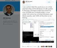 Hacker veröffentlicht vier 0-Day-Lücken für Windows innerhalb weniger Tage