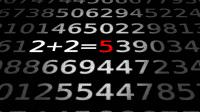 Zahlen, bitte! 2+2 = 5