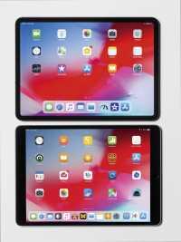 """Das iPad Pro 11"""" (oben) im Vergleich mit dem 10,5""""-Vorgänger."""