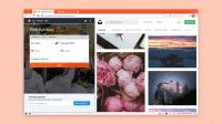 Screenshot des Browsers Vivaldi, mit Tab-Stack und geteilter Ansicht.