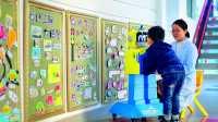 China: Roboter überprüfen Gesundheit bei Kindern