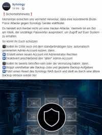 Facebook / Synology