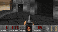 Screenshot des DOOM-Klons Freedoom