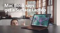 """Microsoft bewirbt Surface mit """"Mac Book"""""""