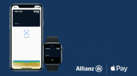 Virtuelle Apple-Pay-Karte von der Allianz
