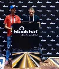 Zaikin und Vanunu auf der Black Hat.