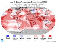Fast überall wärmer als im alten Durchschnitt