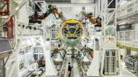 Roboter im Flugzeugbau: Airbus automatisiert A320-Produktion