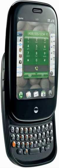 Das Palm Pre mit WebOS.