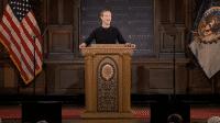 Mark Zuckerberg plädiert für Meinungsfreiheit und Privatsphäre
