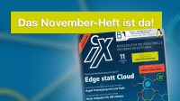 iX 11/2019: Edge-Computing statt alle Daten in die Cloud
