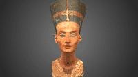 Nofretetes 3D-Scan als CC frei verfügbar