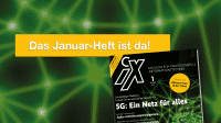 iX 1/2020: 5G als Unternehmensnetz für alles