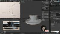 Neue Folgen beim 3D-Kurs für Maker: Konstruieren mit Blender 2.8