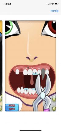 Für Kinder ab 4: Einmal Monsterzähne ziehen, bitte.