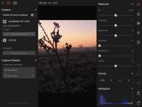 Die Bilddateien k?nnen in Raw aufs iPad Pro übertragen und dort in der Phocus Mobile App bearbeitet werden.