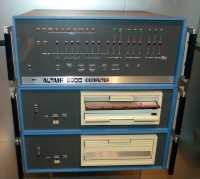 Ein Altair 8800 als Exponat im Technischen Museum Wien