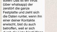 Kettenbrief-Untoter Tobias Mathis wandelt wieder durch Whatsapp