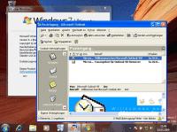 """Eine in Windows 7 Professional, Enterprise und Ultimate: der """"XP-Modus"""" mit virtualisiertem Windows XP Professional."""