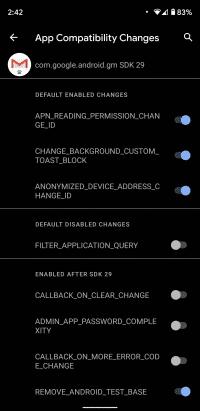 Entwickler können Neuerungen von Android 11 separat ein- oder ausschalten.